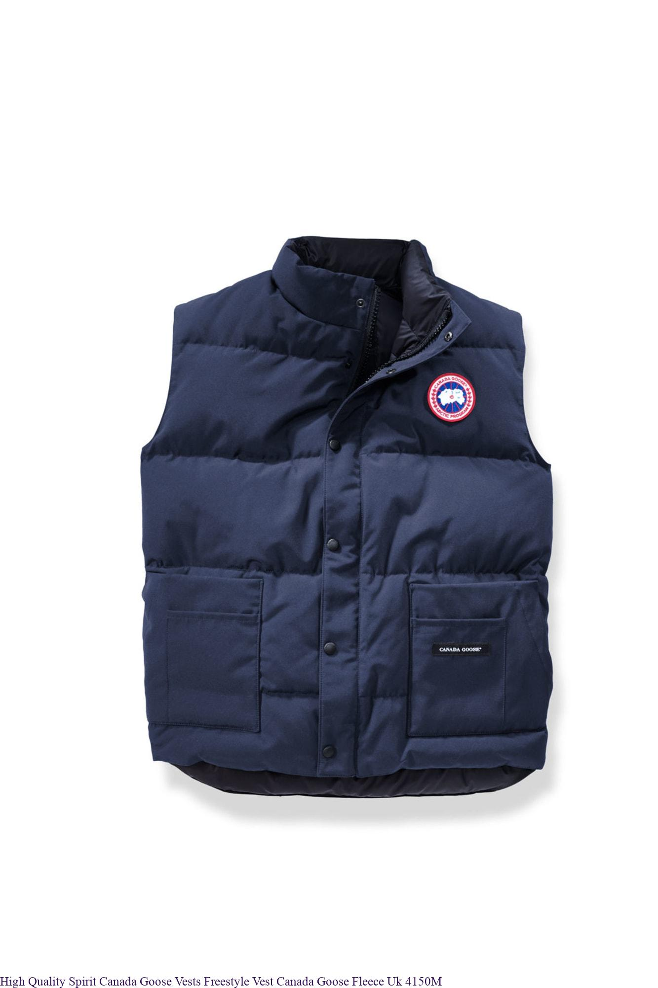 462cf1c9853 High Quality Spirit Canada Goose Vests Freestyle Vest Canada Goose Fleece  Uk 4150M – We Sale 2019 New Arrival And Cheap Canada Goose Outlet Black  Friday