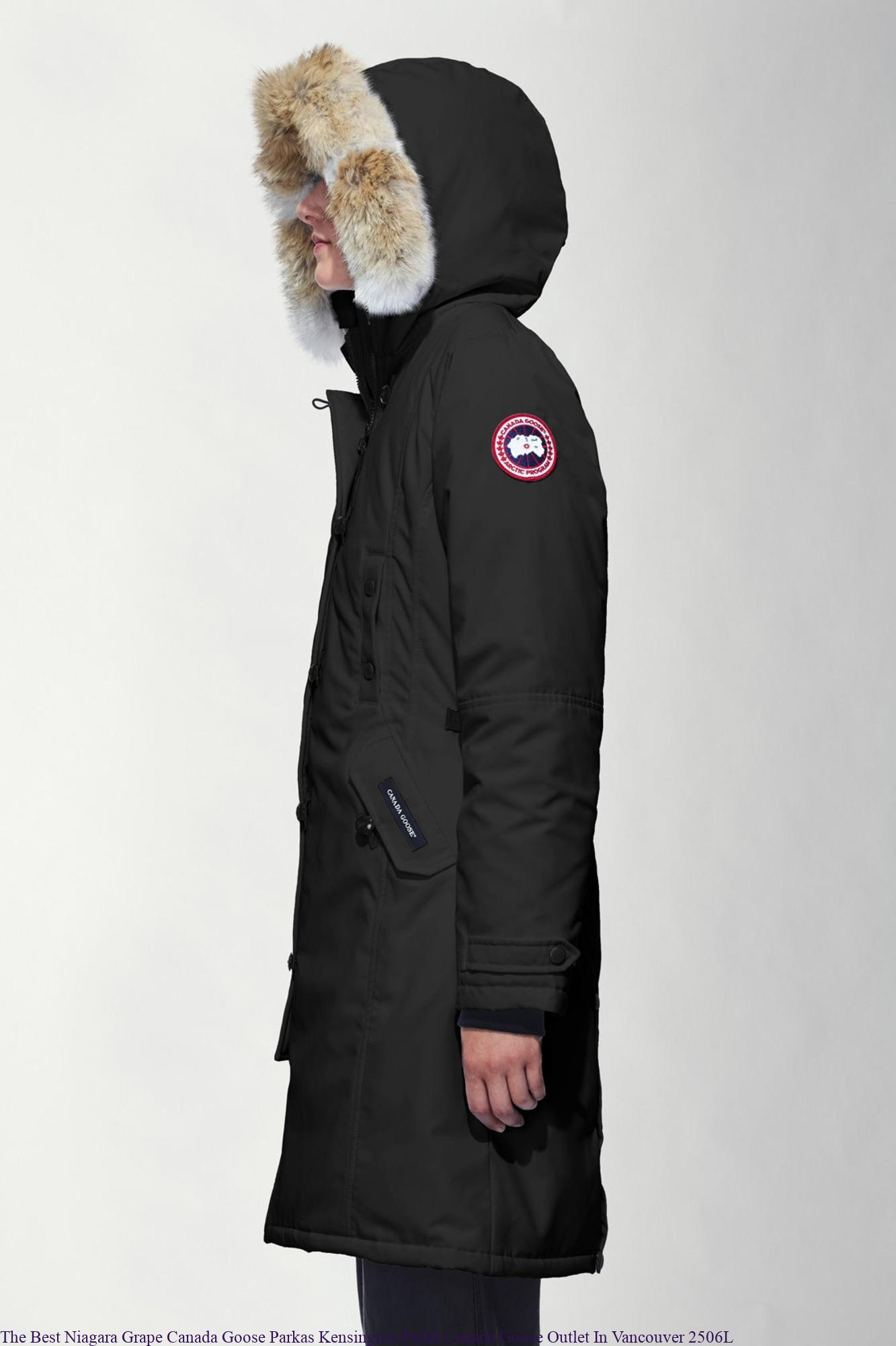 The Best Niagara Grape Canada Goose Parkas Kensington Parka Canada Goose  Outlet In Vancouver 2506L 4981ef216